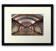 Metro Station  Framed Print