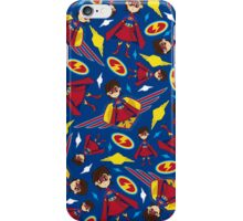 Cute Superhero Pattern iPhone Case/Skin
