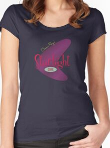 Cosmic Ray's Starlight Cafe Women's Fitted Scoop T-Shirt