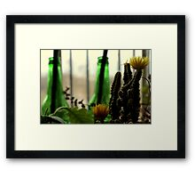 Greenery. Framed Print