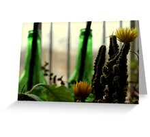 Greenery. Greeting Card