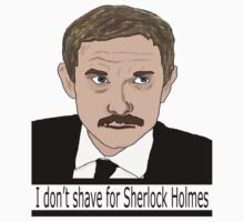 I don't shave for Sherlock Kids Clothes