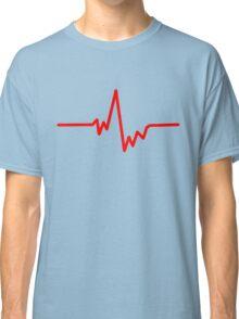 pulse heartbeat cardio Classic T-Shirt