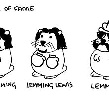 Famous Lemmings by Lilygillypad