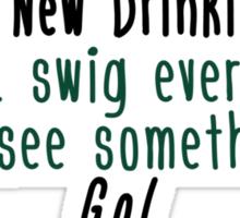 Favorite Drinking Game Sticker