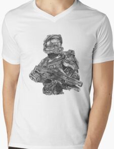 Halo - Master Chief  Mens V-Neck T-Shirt