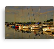 Gimli Harbour!!! Canvas Print