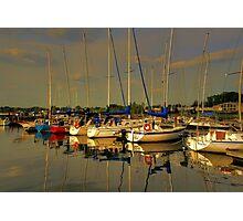 Gimli Harbour!!! Photographic Print