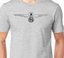 Stearman Aircraft Logo (Black) Unisex T-Shirt