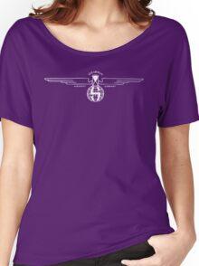 Stearman Aircraft Logo (White) Women's Relaxed Fit T-Shirt