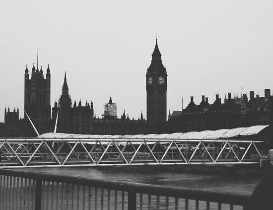 London Skyline by helloimbethany