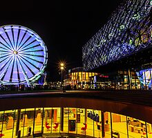 The Library of Birmingham and The Wheel by Verity Milligan