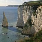 The Pinnacles and Peveril Point by RedHillDigital