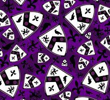 Medieval Shield Pattern by MurphyCreative