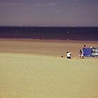 Sunday at Portobello Beach - Sunbathing by Kasia-D