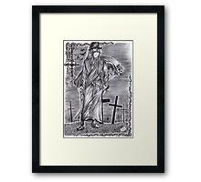 Black Butler - Undertaker Framed Print