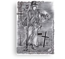 Black Butler - Undertaker Canvas Print