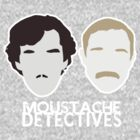 Moustache Detectives by heythisisBETH