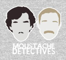 Moustache Detectives by Dexter Lewis