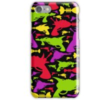 Retro Raygun Pattern iPhone Case/Skin
