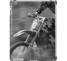 Dirt bike flat out iPad Case/Skin