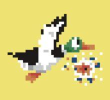 8-Bit Nintendo Duck Hunt 'Miss' Baby Tee