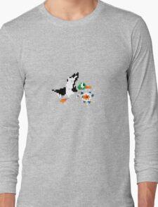 8-Bit Nintendo Duck Hunt 'Miss' Long Sleeve T-Shirt