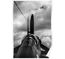Spitfire B&W Poster