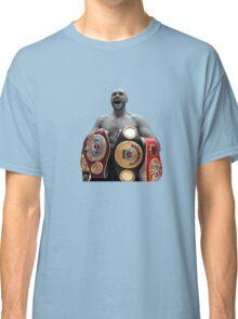 Tyson Fury Boxing World Champion Classic T-Shirt