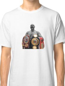 Tyson Fury Boxing World Champion Classic T-Shirt