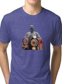 Tyson Fury Boxing World Champion Tri-blend T-Shirt