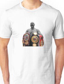 Tyson Fury Boxing World Champion Unisex T-Shirt