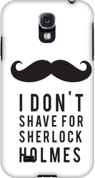 I Don't Shave for Sherlock Holmes by spellbending