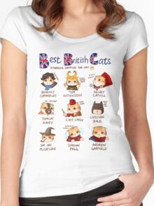Best British Cats (BBC) Women's Fitted Scoop T-Shirt
