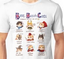 Best British Cats (BBC) Unisex T-Shirt