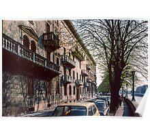 Building by R Adige on Longadige Parvinio Verona Italy 19840419 0076  Poster