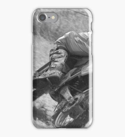 Dirt bike racing iPhone Case/Skin