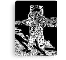 Moonman Canvas Print