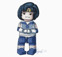 Legolized Sailor Mercury by luvusagi