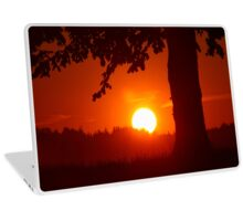Sunset with Tree Laptop Skin