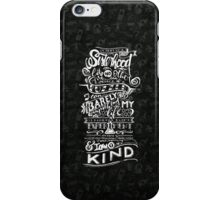 One of a kind (white) iPhone Case/Skin