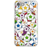 Soccer Football Pattern iPhone Case/Skin