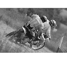 Dirt bikes racing Photographic Print