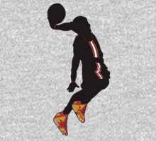 lebron james dunk t-shirt by bubly