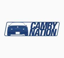 Camry Nation - Gen 3 Blue Alternate by Jordan Bezugly
