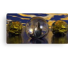 New Age Groovy Spa Canvas Print