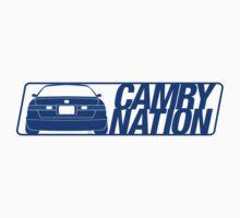 Camry Nation - Gen 4 Blue Alternate by Jordan Bezugly