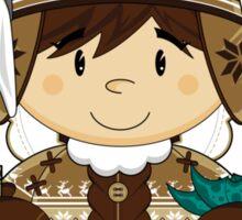 Cute Inuit Boy Sticker