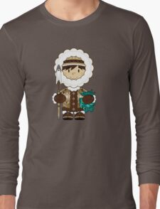 Cute Little Inuit Long Sleeve T-Shirt