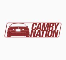 Camry Nation - Gen 4 Red Alternate by Jordan Bezugly
